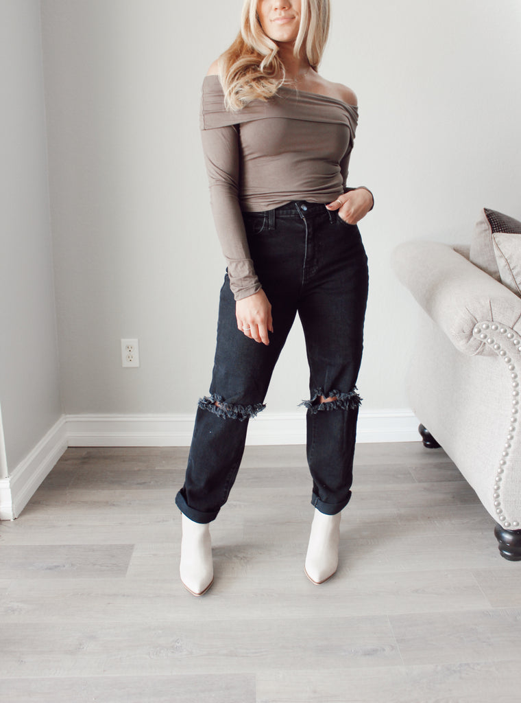 Courtney Off Shoulder Top