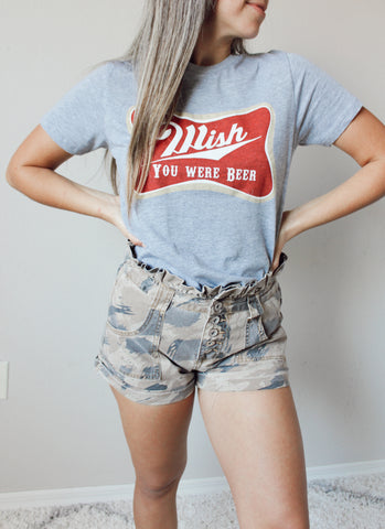 Strike Out Distressed Tee