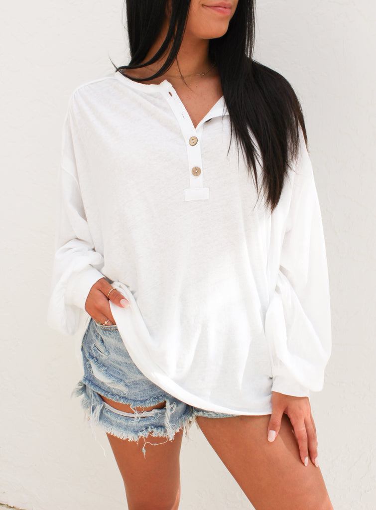 Riley Oversized Top