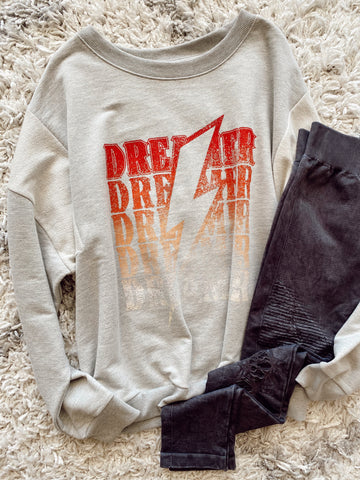 World Tour Distressed Tee - Kailyn Lowry Collection