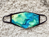 Face Mask - TIE DYE BLUE MIX