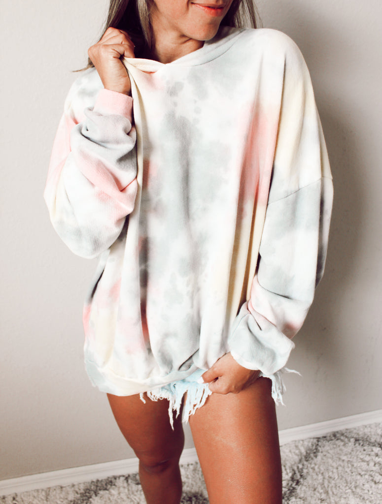 Take It Easy Oversized Hoodie