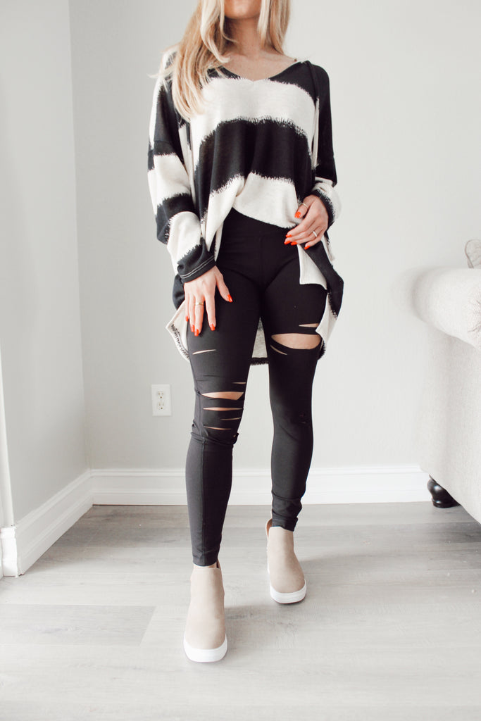 Cut Out Leggings - Kailyn Lowry Collection