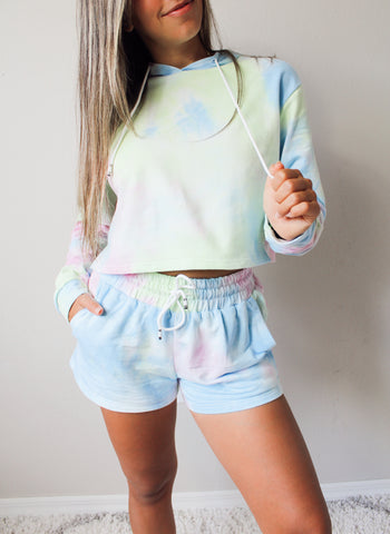Electric Tie Dye Shorts