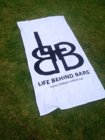 Life Behind Bars  Beach Towel