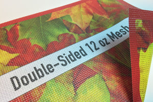 12oz Double Sided Mesh Banner