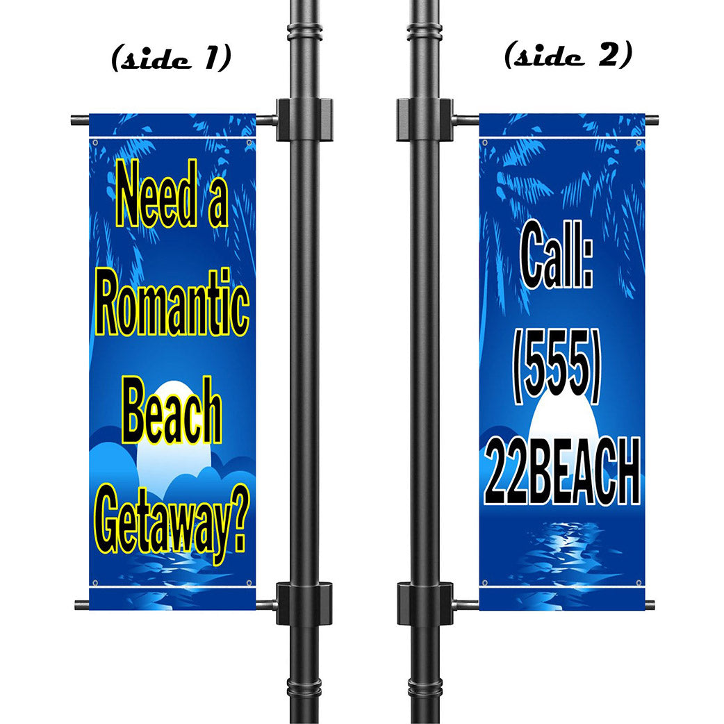 Outdoor Pole Banner
