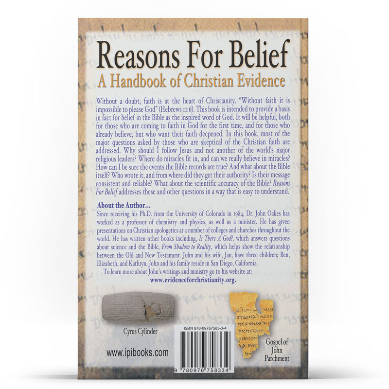 Reasons For Belief: A Handbook of Christian Evidence Kindle - IlluminationPublishers