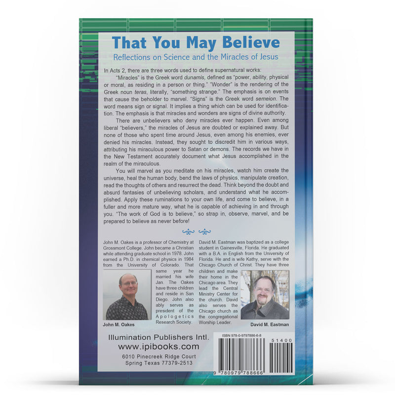 That You May Believe - Illumination Publishers