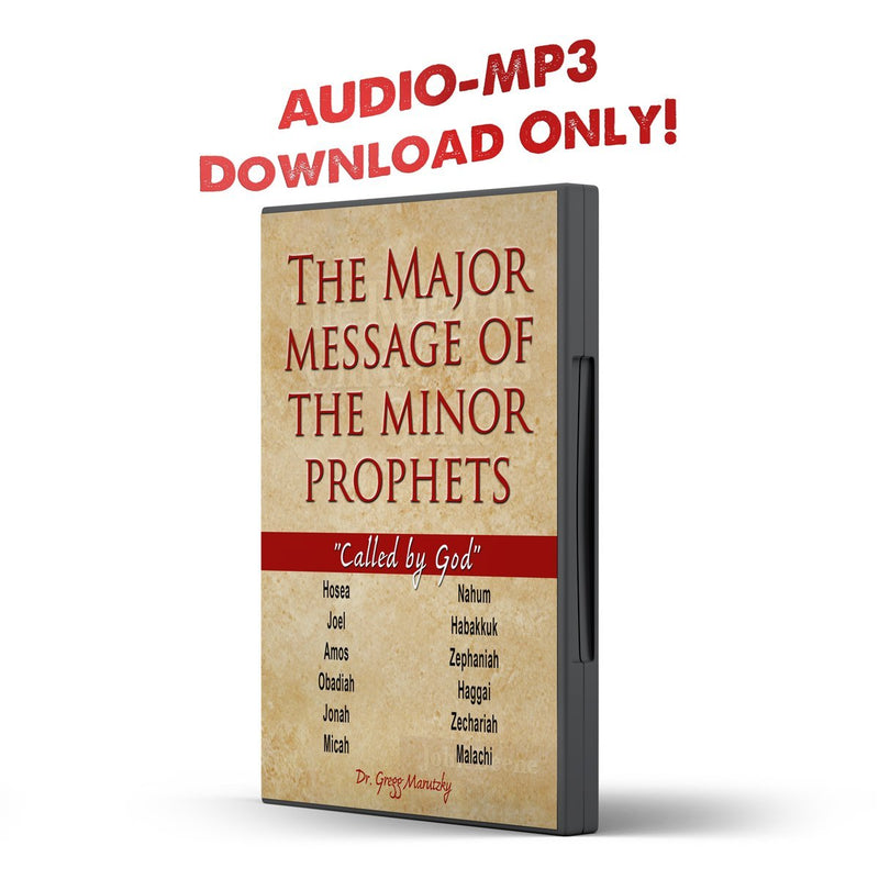 The Major Message of the Minor Prophets - Illumination Publishers