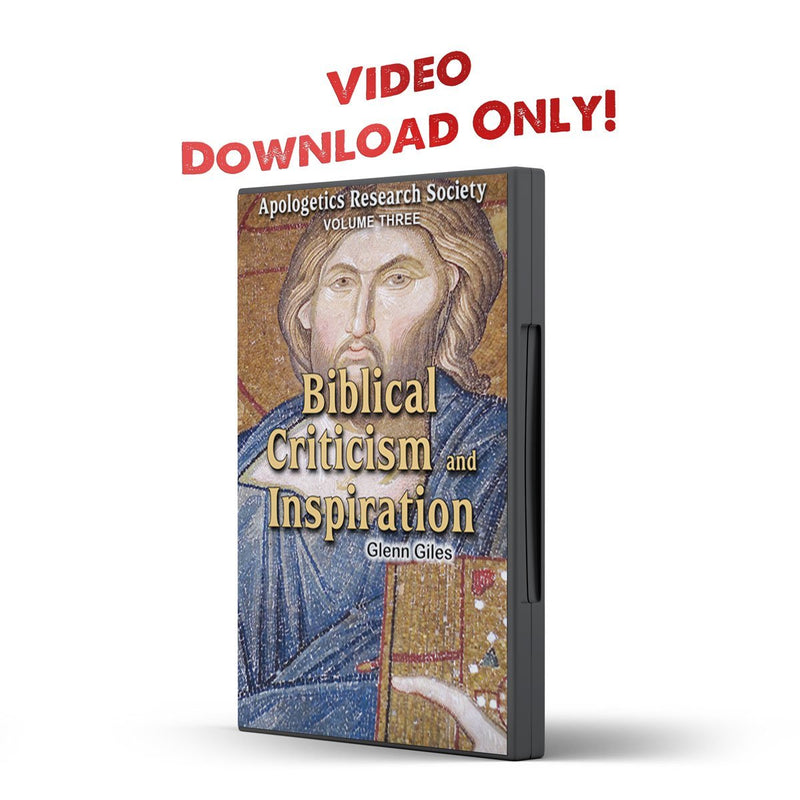 Vol 03 ARS Biblical Criticism and Inspiration - Illumination Publishers