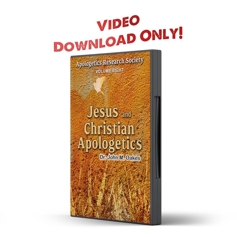 Vol 08 ARS Jesus and Christian Apologetics - Illumination Publishers