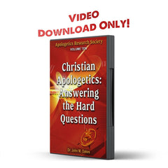 Vol 10 ARS Christian Apologetics: Answering the Hard Questions - IlluminationPublishers