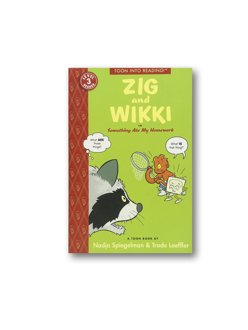 Zig and Wikki in Something Ate My Homework : TOON Level 3