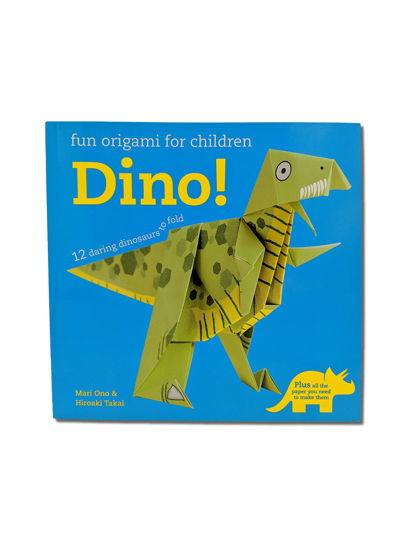 Fun Origami for Children: Dino! : 12 Daring Dinosaurs to Fold