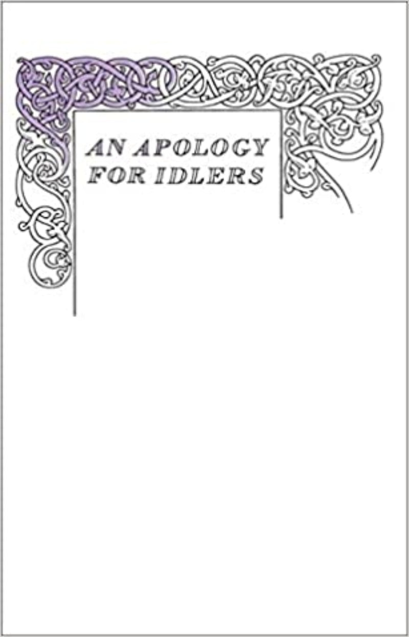 An Apology for Idlers - Penguin Great Ideas