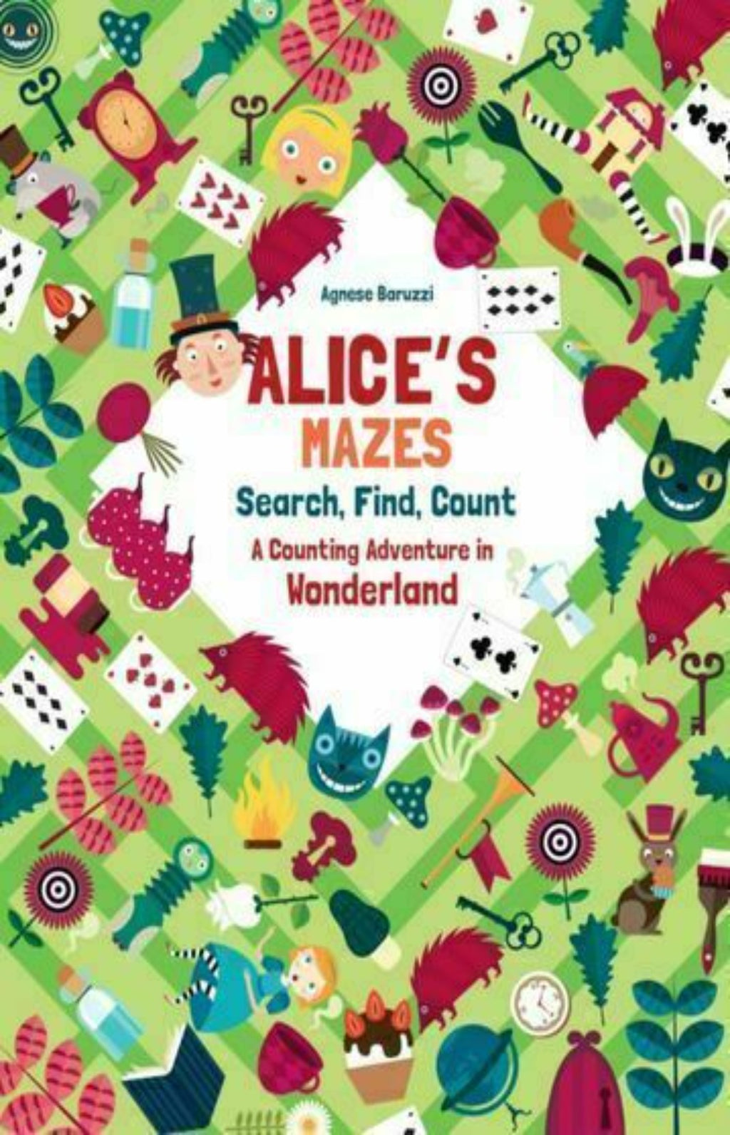 Alice's Mazes : Search, Find, Count