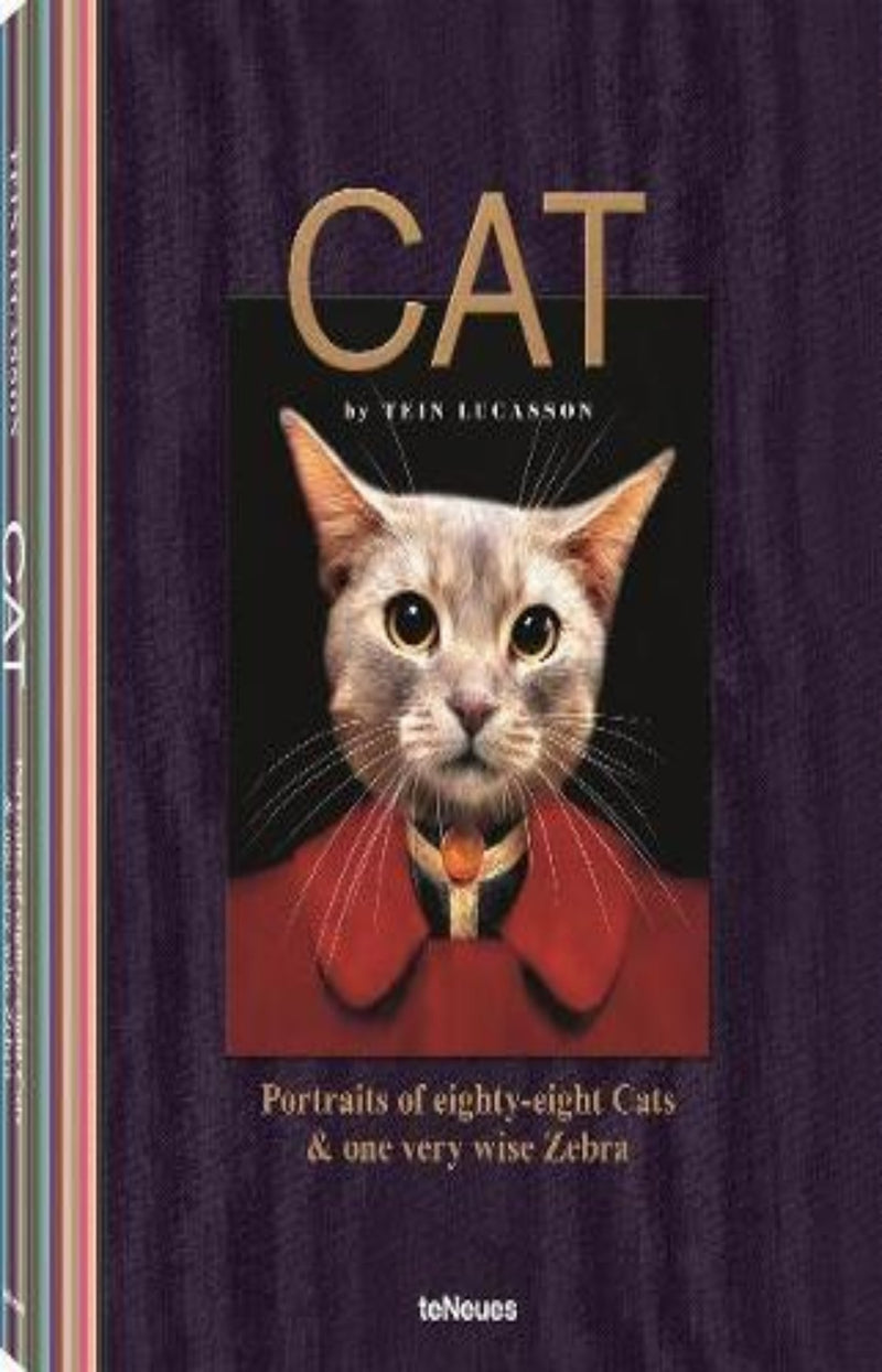 Cat : Portraits of Eighty-Eight Cats & One Very Wise Zebra