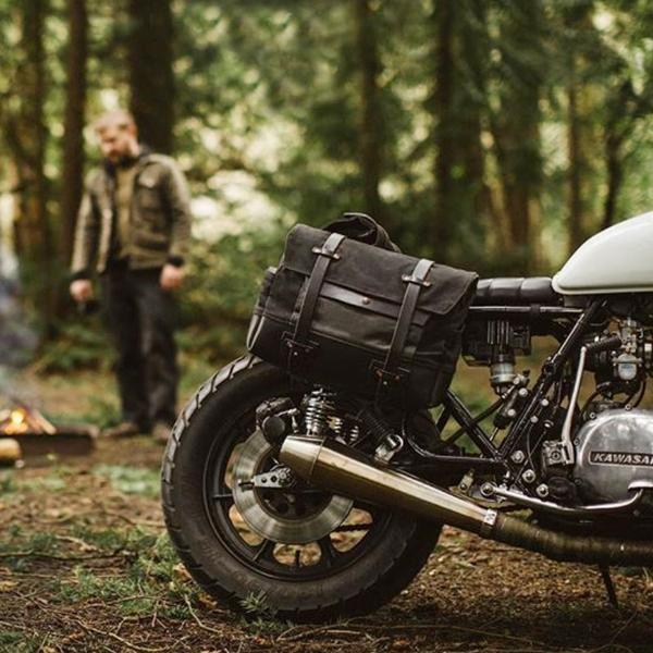 Canvas Motorcycle bag!