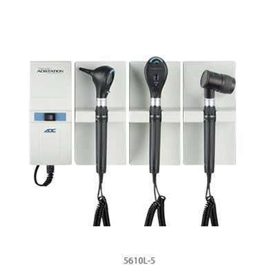 ADC Adstation Diagnostic Wall Set with DermaScope