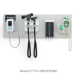 Welch Allyn Green Series 777 Integrated Wall System with Connex ProBP