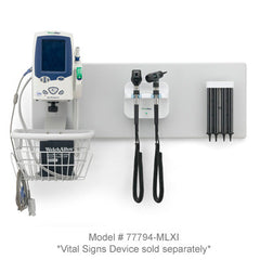 Welch Allyn Green Series 777 Integrated Wall System with Vital Signs Mount