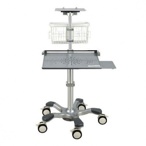 Wallach Fetal2EMR Rolling Cart with Tray