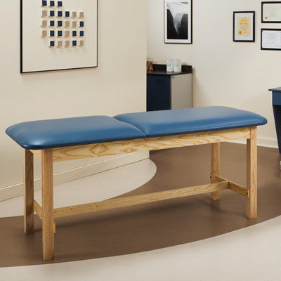 Clinton Classic Series Treatment Table with H-Brace