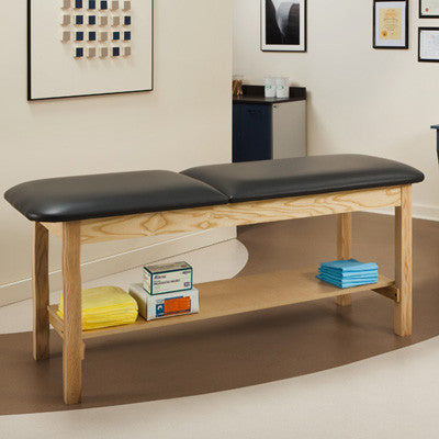 Clinton Classic Series Treatment Table with Shelf