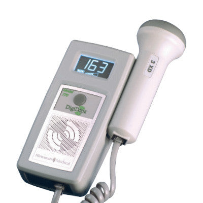 Newman Medical DD770R DigiDop II Pocket Doppler - Display, Rechargeable