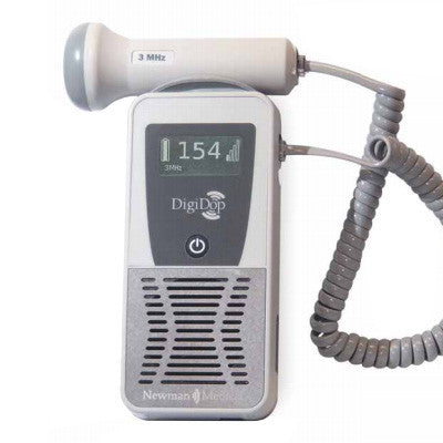 Newman Medical DD701 DigiDop Pocket Doppler - Display, Rechargeable