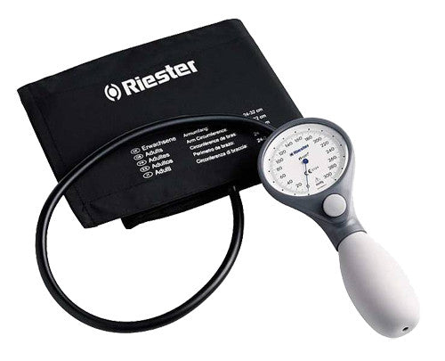 Riester Ri-San Blood Pressure Aneroid with Adult Cuff