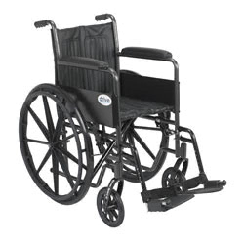 Drive Silver Sport 2 Wheelchair with Swing Away Footrest