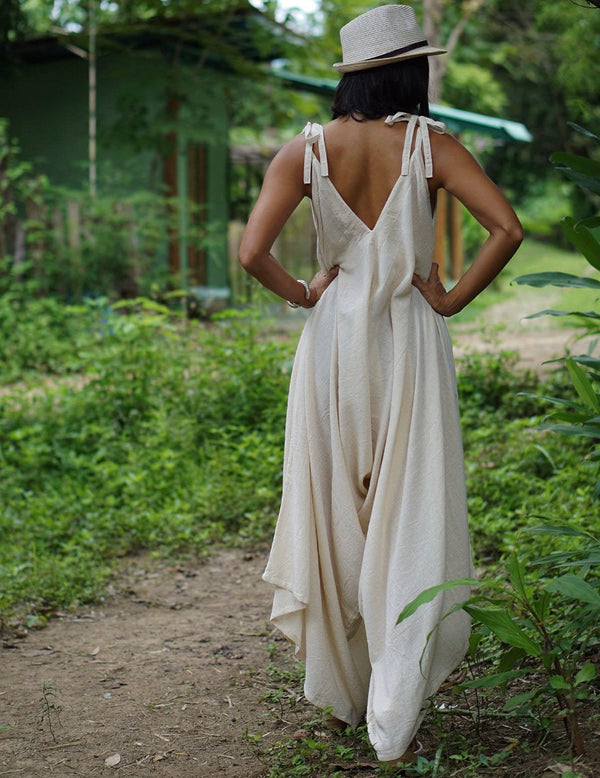 handmade harem jumpsuit eco-friendly