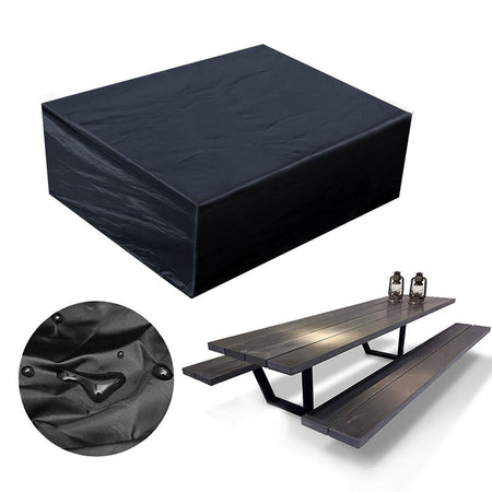 Rainproof IN/Outdoor Furniture Cover UV Waterproof Garden Patio Table Shelter