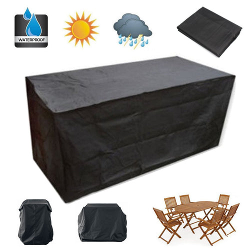 90/100/124inch Outdoor Garden Patio Waterproof Furniture Cover Sofa Protection