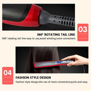 Temango™ 29W Hair Straightener, Straightening Comb &, Curling Brush