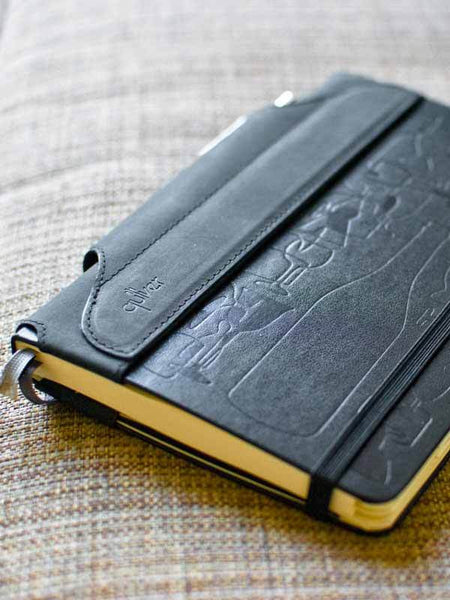 Single Pen Quiver for Large Notebooks - Indie Carry  - 8
