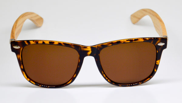 Little 5's - Tortoise Shell Frames with Bamboo Temples - Indie Carry  - 2