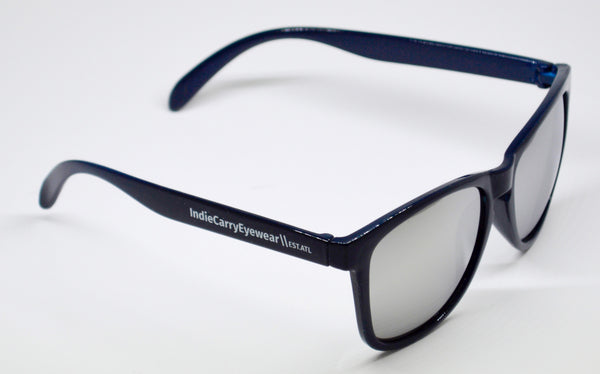 Dark Blue with Smoke Lenses - Indie Carry  - 1