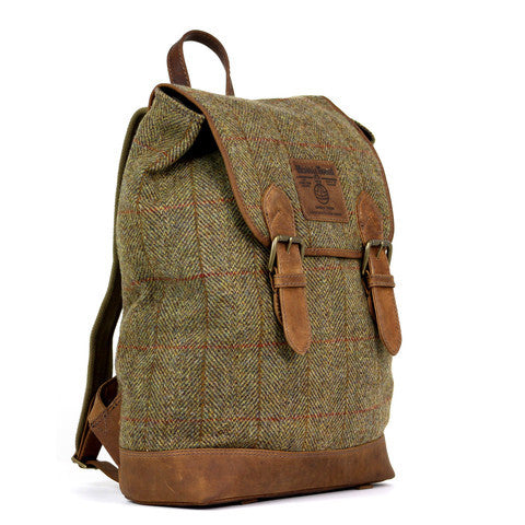 Highland Harris Tweed Rucksack - Indie Carry