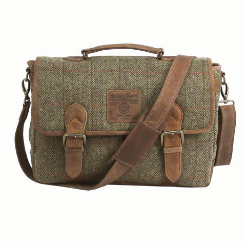Highland Harris Tweed Satchel - Indie Carry