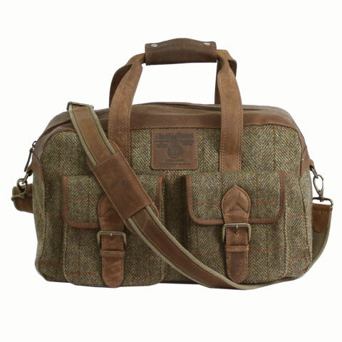 Highland Harris Tweed Holdall - Indie Carry