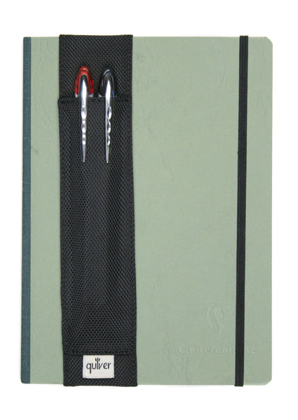 Double Pen Quiver for Large Notebooks - Indie Carry  - 5