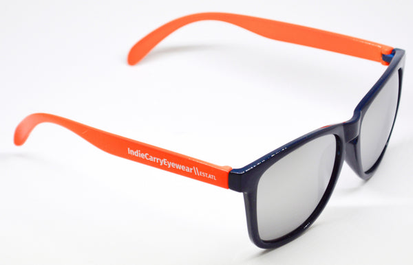 Orange & Blue with Smoke Lenses - Indie Carry