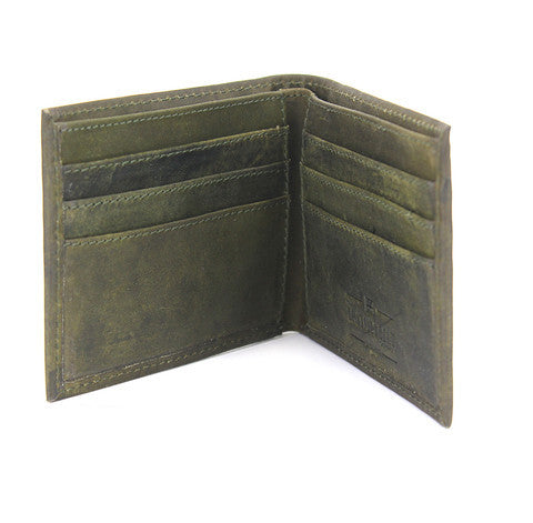 The British Belt Company Bi-Fold - Olive - Indie Carry  - 2
