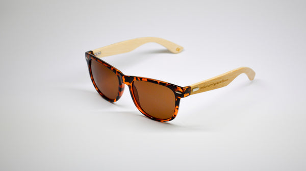 Little 5's - Tortoise Shell Frames with Bamboo Temples - Indie Carry  - 1