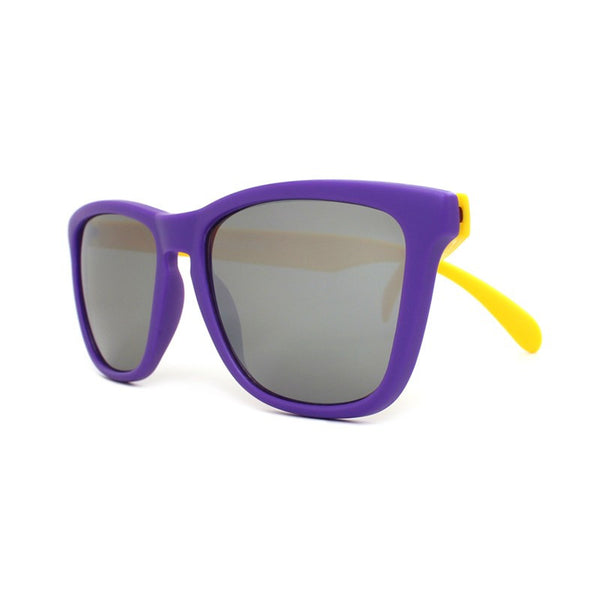 Knockaround Collegiate - Purple and Yellow/Smoke - Indie Carry  - 4