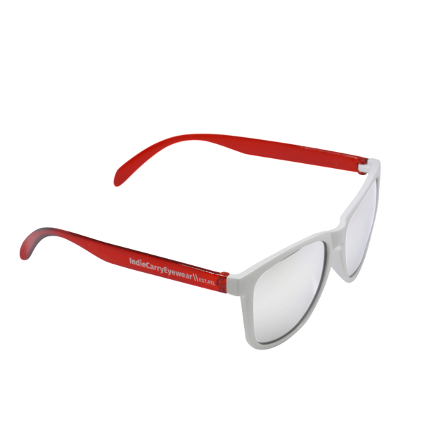 Red & White with Smoke Lenses - Indie Carry  - 1