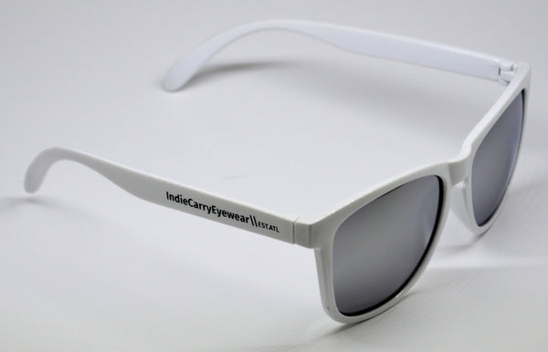 White with Smoke Lenses - Indie Carry  - 1